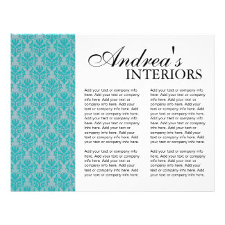 Three Fold Interior Designer Brochure Flyer Design