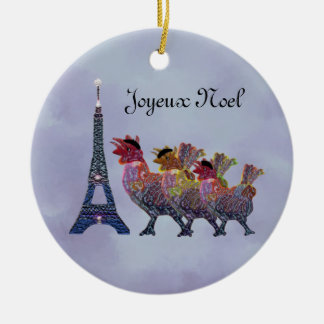 Three French Hens Ornament