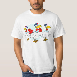 Three French Hens T-Shirt