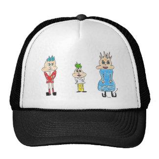 Three Funny People Trucker Hat