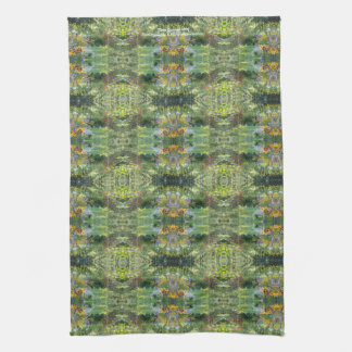 Three Gardens Meet kitchen towel