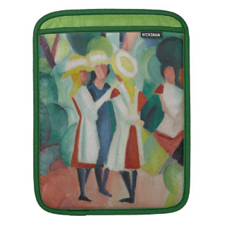 """Three Girls"" Art device sleeves Sleeve For iPads"