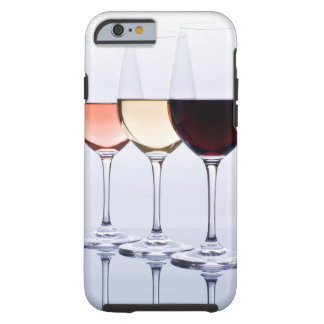 Three Glasses of Wine Tough Case for iPhone 6/6s