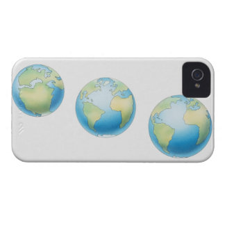 Three Globes iPhone 4 Cover