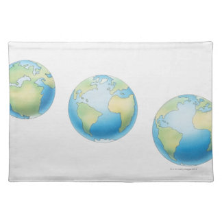 Three Globes Placemat