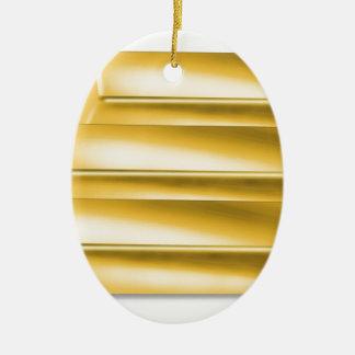three-golden-gold bars.jpg ceramic oval decoration