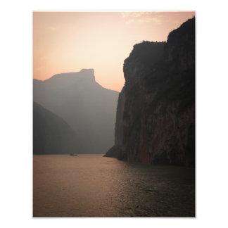 Three Gorges Sunset Photo Art