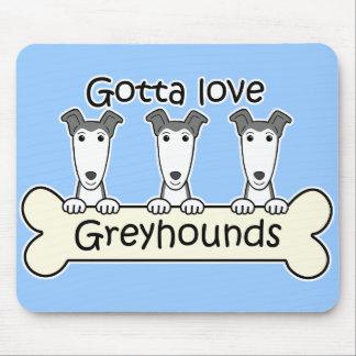 Three Greyhounds Mouse Mat