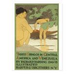 Three gringos in Central America & Venezuela 1898 Postcards