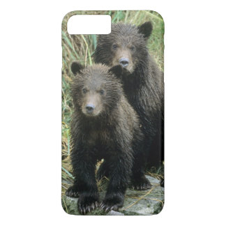 Three Grizzly Bear Cubs or Coys (Cub of the iPhone 8 Plus/7 Plus Case