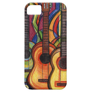 Three Guitars Case For The iPhone 5