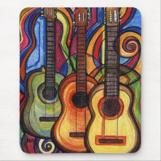 Three Guitars Mouse Mat