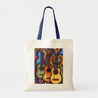 Three Guitars Tote Bag