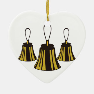 Three Handbells Christmas Ornament