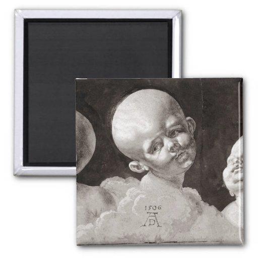 Three Heads of Children, 1506 Magnets