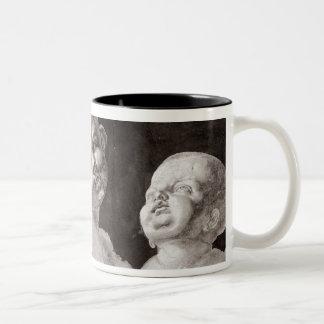Three Heads of Children, 1506 Two-Tone Coffee Mug