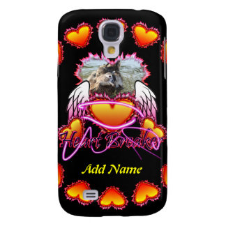 Three Hearts Angel Wings Heart Breaker sign Samsung Galaxy S4 Case