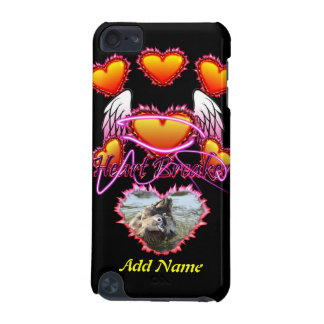 Three Hearts Angel Wings Heart Breaker sign iPod Touch 5G Case
