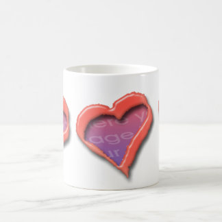Three Hearts Photo Mug