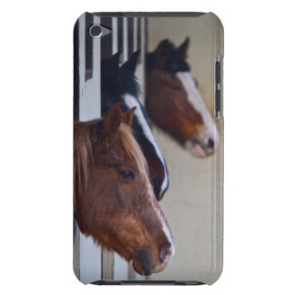 Three Horses in Stables iPod Touch Case