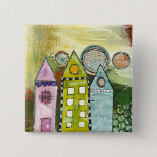 'three houses' surreal button