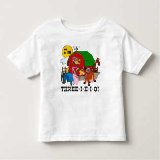 THREE-I-E-I-O TODDLER T-Shirt
