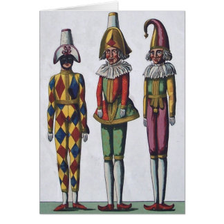 Three Jesters Note Card