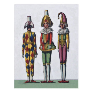 Three Jesters PostCard