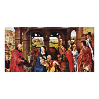 Three King Altar Middle Panel Adoration Photo Cards
