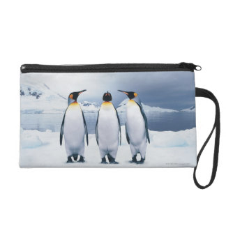 Three King Penguins Wristlet