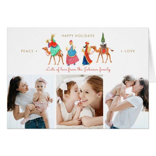 Three Kings | Holiday | Folded Greetings Cards