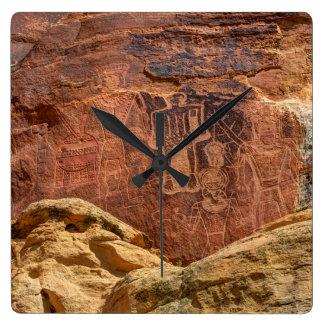 Three Kings Petroglyph - Mcconkie Ranch - Utah Clocks