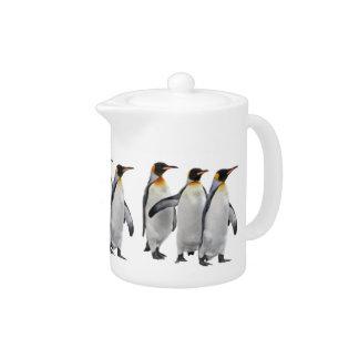 Three Kings Teapot