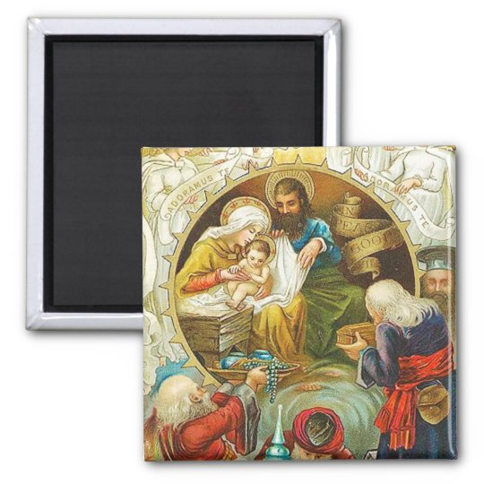 Three Kings Vintage Magnet