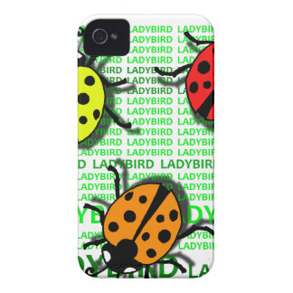 Three Ladybirds iPhone 4 Cover
