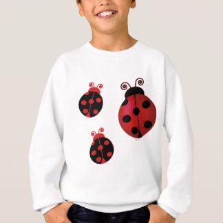 Three Ladybugs Sweatshirt