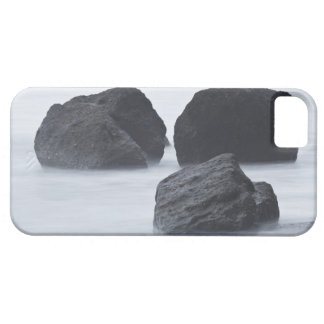 Three large boulders on Ruby Beach, Olympic iPhone 5 Covers