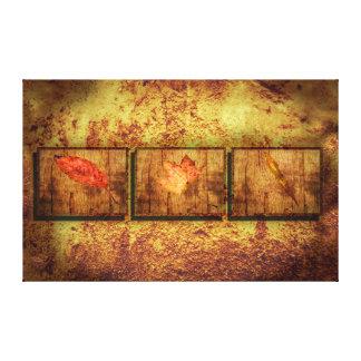 Three Leaves Canvas Print
