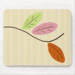 Three Leaves Mousepad