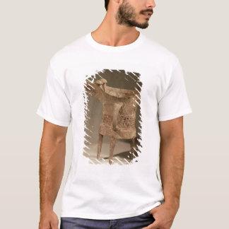 Three-legged 'chueh' vessel for heating wine T-Shirt