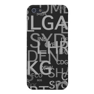 Three-Letter Airport Codes iPhone 5/5S Cover