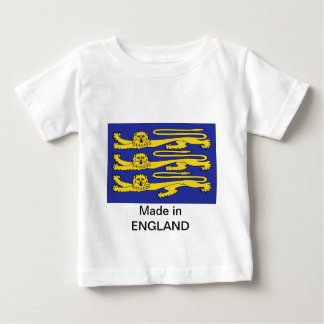 Three Lions of England Baby T-Shirt