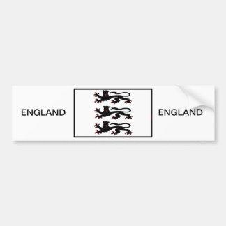 Three Lions of England Bumper Sticker
