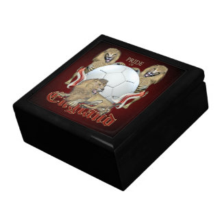 Three Lions Pride of England Football Gift Box