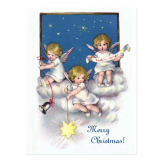 Three Little Angels Postcard