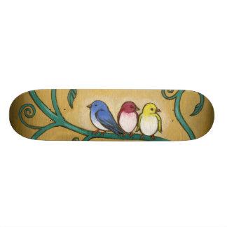 Three Little Birds 19.7 Cm Skateboard Deck