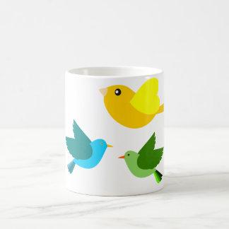 Three Little Birds Coffee Mugs