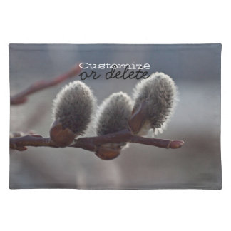 Three Little Catkins; Customizable Place Mats