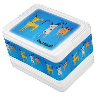 Three little dogs - 12 dog to cosmell igloo cool box