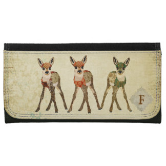 Three Little Fawns Wallet